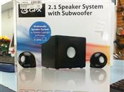 GPX Speakers/Subwoofer HT12B